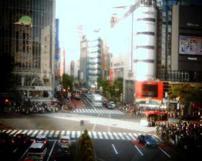 渋谷・スクランブル交差点:Entry