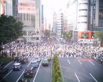渋谷・スクランブル交差点:R2