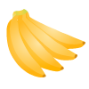 ブログ素材(バナナ)