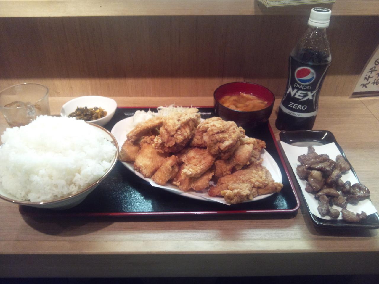 えぞや六角橋店(腹減った定食)