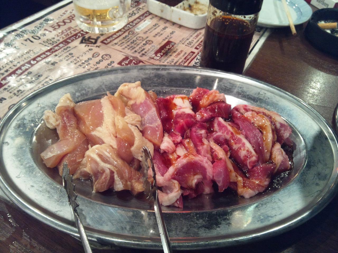 しちりん炭火焼鉄人下北沢店(肉)