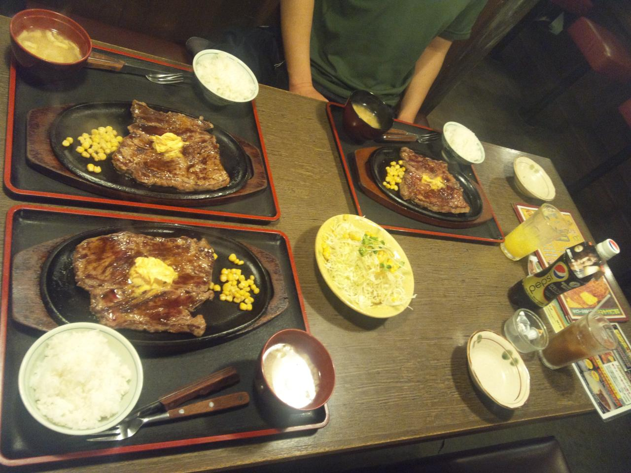 すてーき亭武蔵小金井店(食べ放題)
