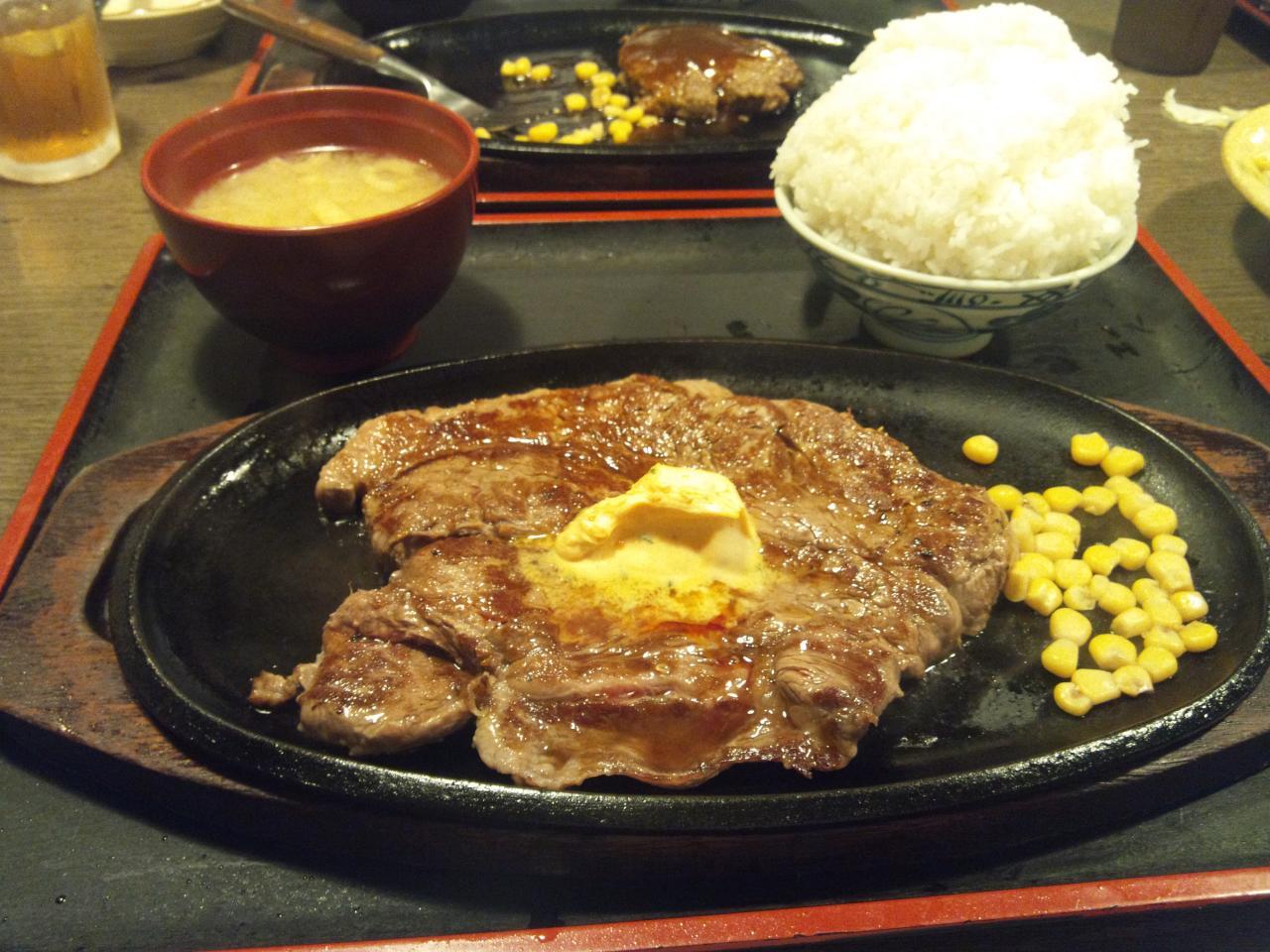 すてーき亭武蔵小金井店(食べ放題_ステーキ3)