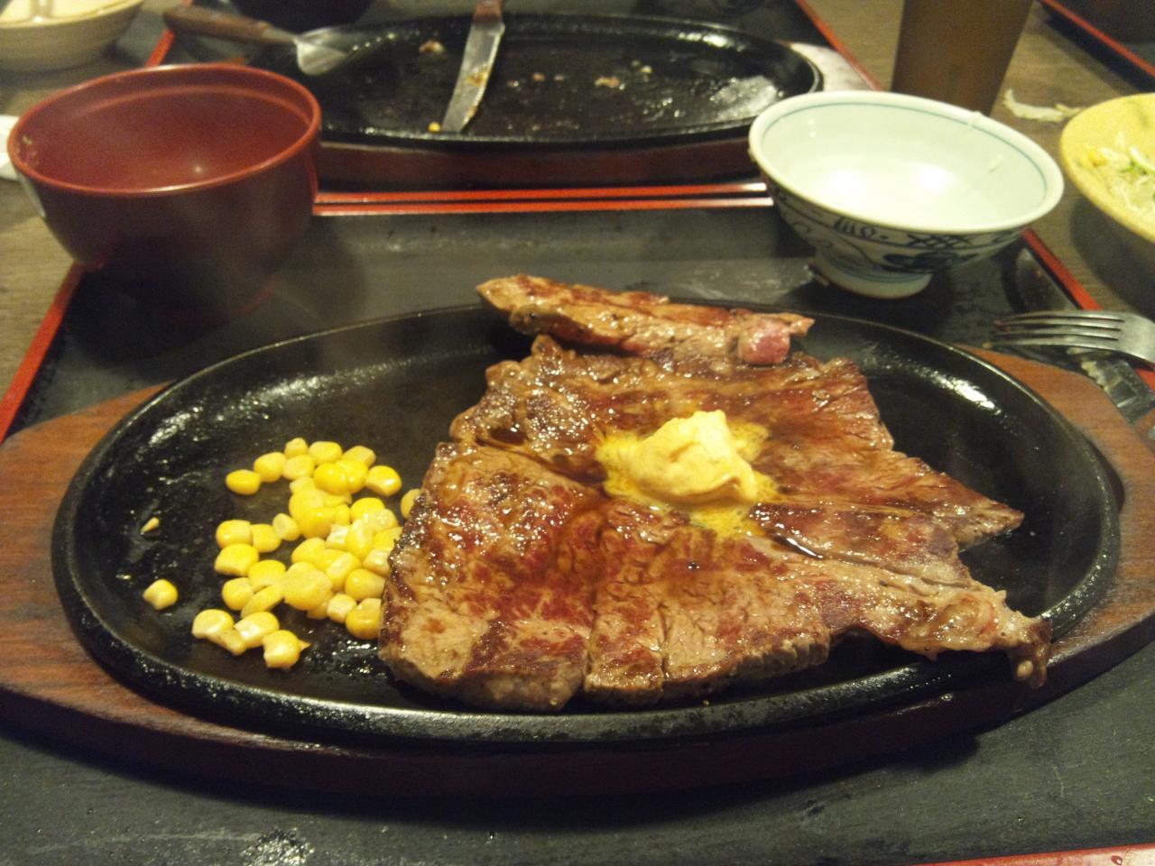 すてーき亭武蔵小金井店(食べ放題_ステーキ5)