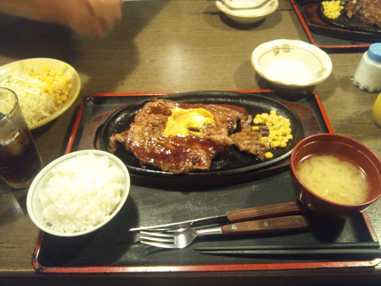 すてーき亭武蔵小金井店(食べ放題ステーキ)