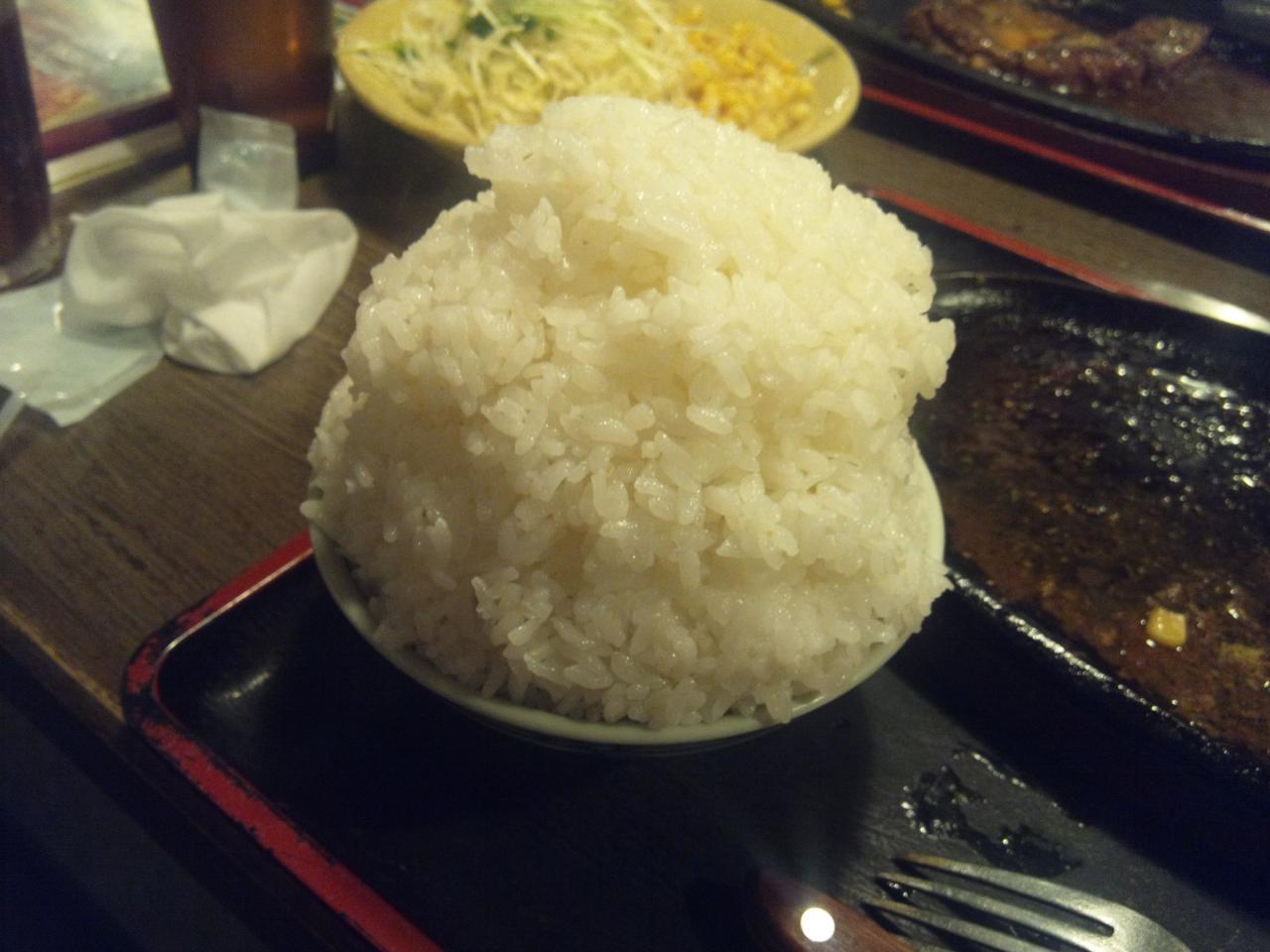 すてーき亭武蔵小金井店(食べ放題ご飯)