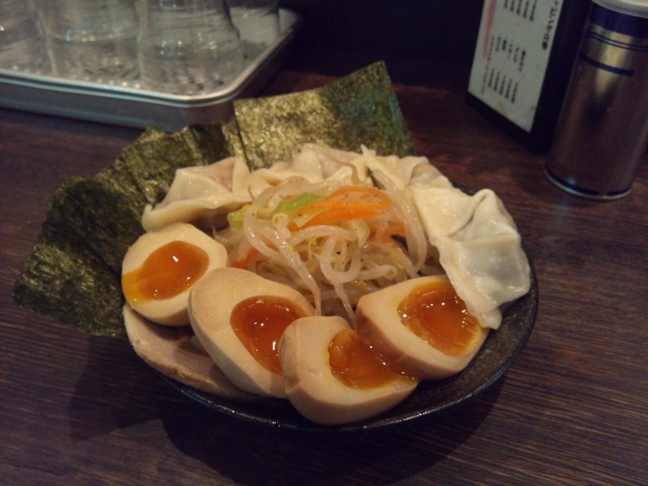 つけ麺隅田西新橋店(特製全盛り)