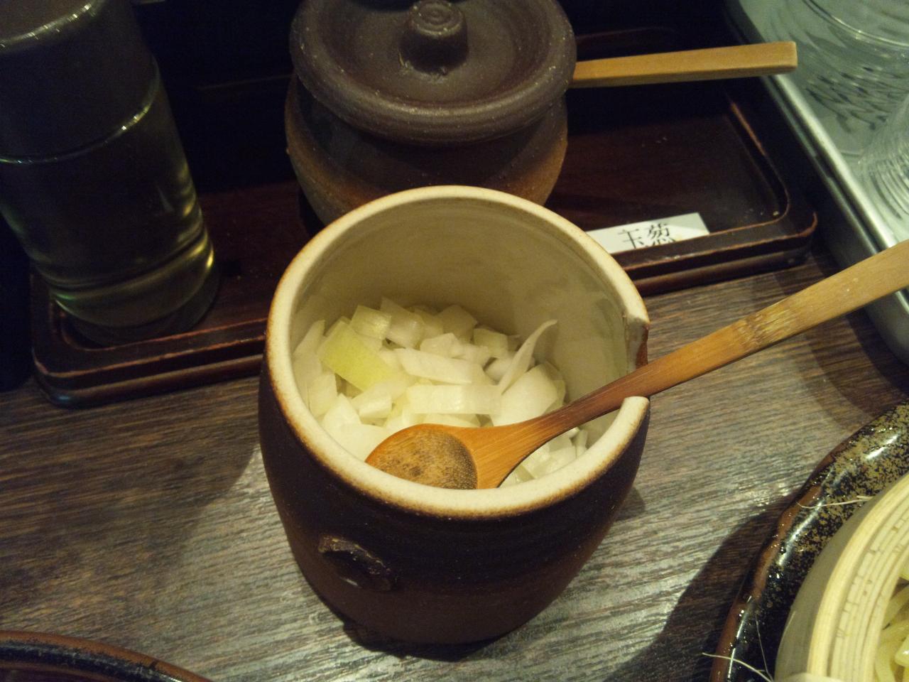 つけ麺隅田西新橋店(たまねぎ)