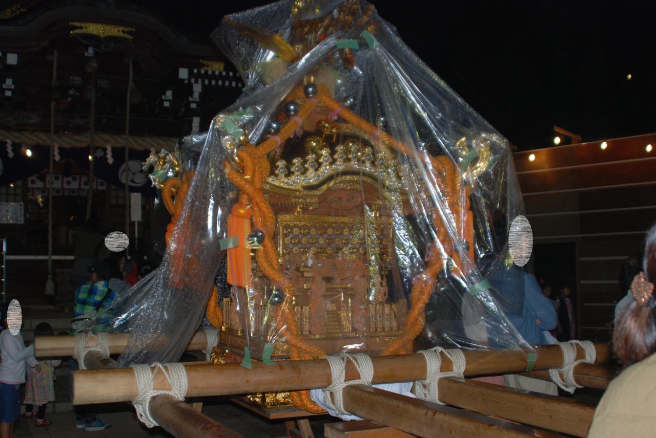 馬絹神社秋季例大祭