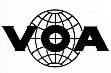 VOA logo in 1960's