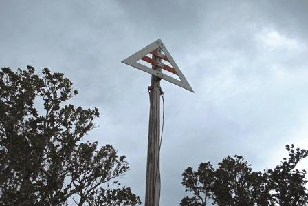 海底ケーブル標識