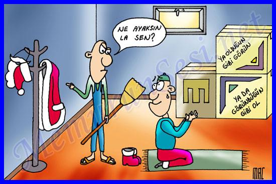 karikatur,-noel