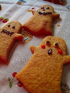 ハロウィンなクッキー