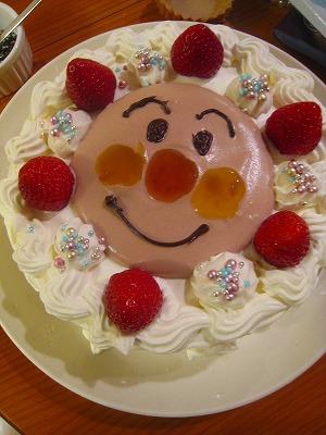 甥っ子4歳ケーキ