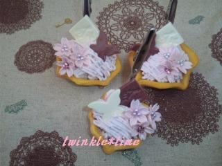 桜モンブランパイ 1-1