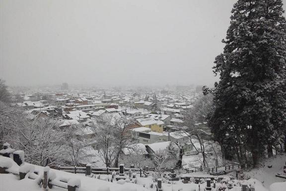 飯盛山からの眺め