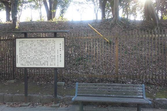水戸城跡説明看板