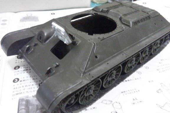 T34車体