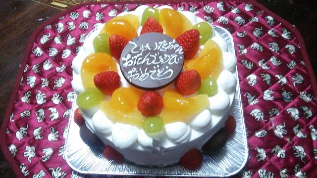 141203 珠唯奈1歳誕生日① ブログ用