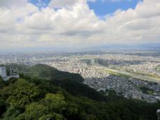 5-5岐阜城から濃尾平野