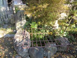 石田三成産湯の井戸