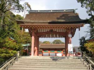 津島神社南門