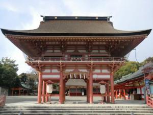 津島神社楼門