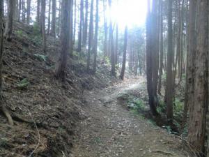 上赤坂城二の木戸跡