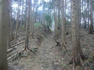 上赤坂城三の木戸跡