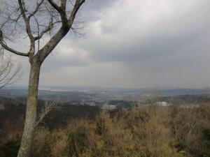 上赤坂城景色
