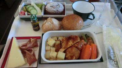アリタリア航空 プレミアムエコノミー機内食