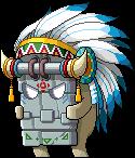 9800183変形されたストーンマスク