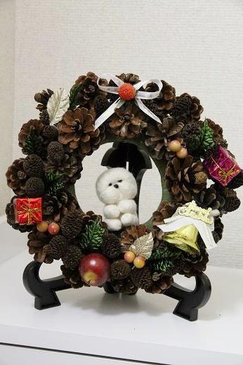 クリスマスリースプレゼント企画(リース写真撮りなおしました) (5)