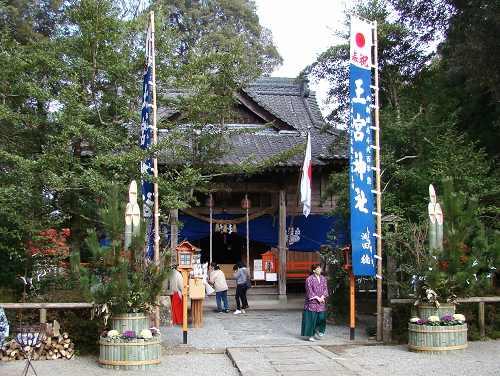 あさぎり町 王宮神社 初詣