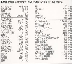 ユサナ_HP成分表