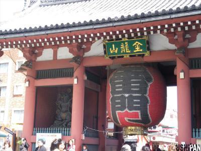 浅草寺桜1