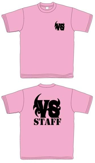 VS STAFF Tシャツ