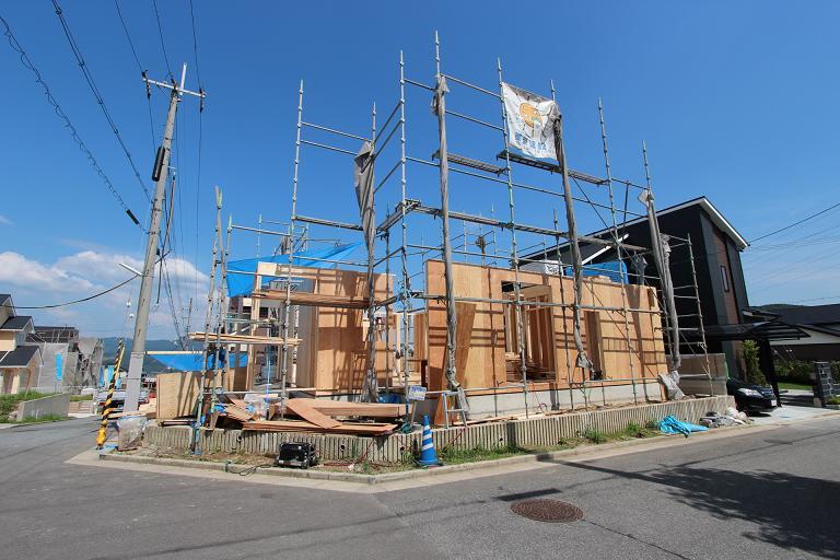 K様邸建て方画像7月9日