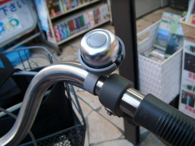 壊された自転車のベル
