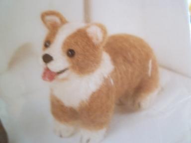 フェルト犬