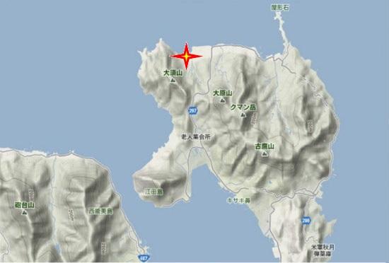1)江田島町北部・慰霊碑