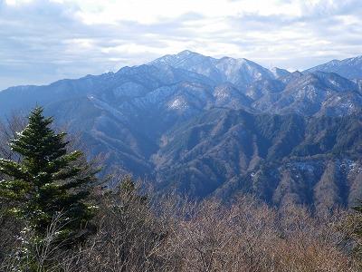 仏果山から大山