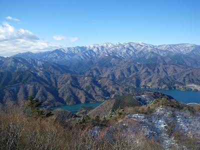 仏果山から丹沢