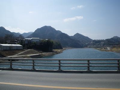 駅への途中から御前山