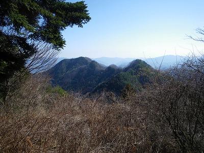 大丸から高柄山