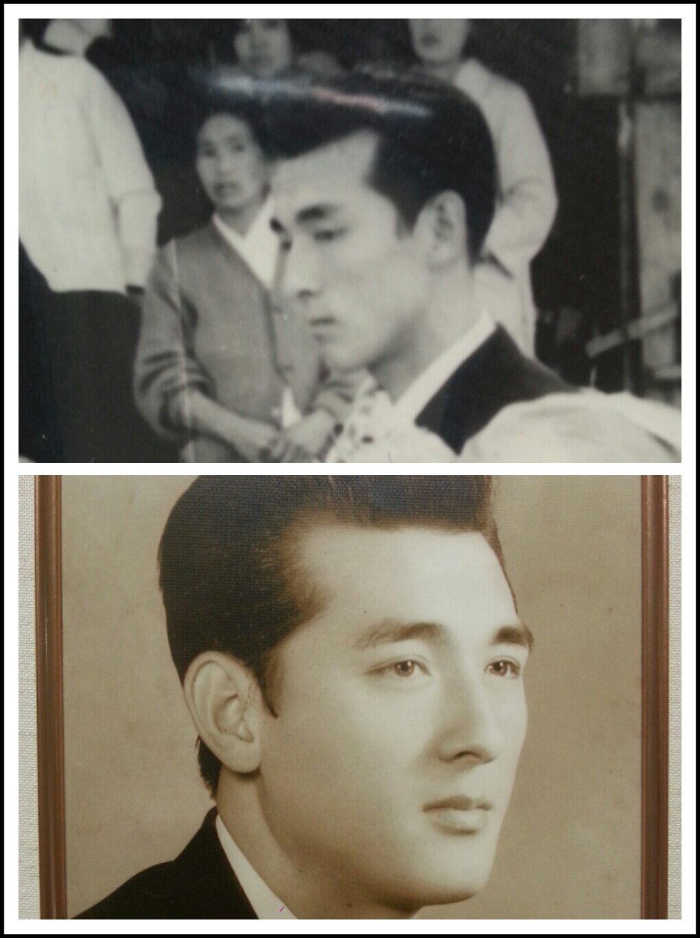 1965年に結婚父