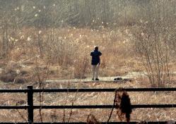 鑑山公園でアコーディオン練習20130131-3