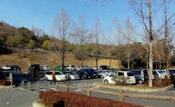 鑑山公園でアコーディオン練習20130131-1