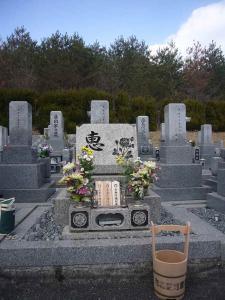 墓参り20130127-1