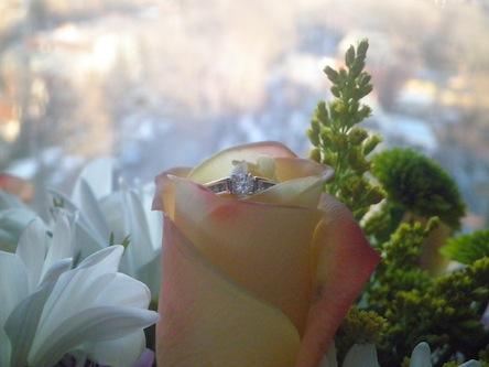 サプライズ指輪